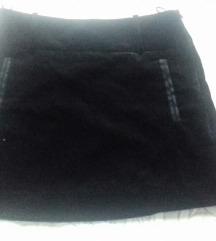 Suknja baršun/pliš Mango 36