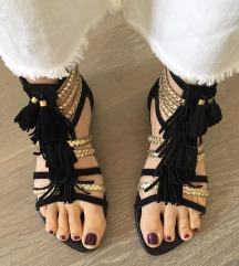 TOPSHOP crne sandale