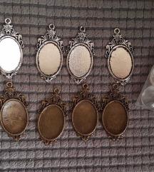 Medaljoni za slike, privjesak, nakit