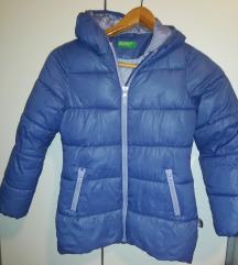 Benetton zimska jakna vel 7-8