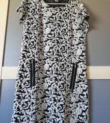 Mini haljina, reljefna, vel. M