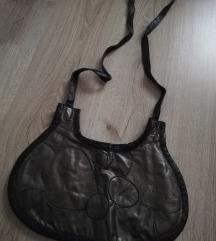 Kožna retro torbica
