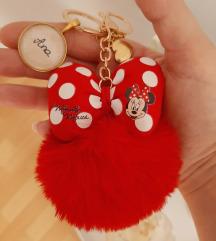 Minnie Mouse čupavi privjesci