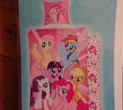 May little pony nova posteljina 140x200