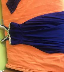 Plava svecana haljina