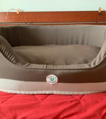 Smeđi/bež Trixie Insect Shield krevet za psa