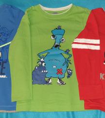 LOT majice za dječake 122