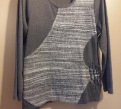 Siva tunika - pulover 44