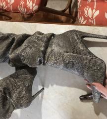 Čizme zmijskog uzorka ShoeBox