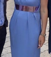 Svijetloplava haljina ASOS