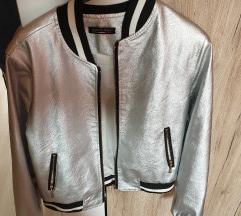 Siva proljetna jaknica