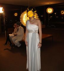 Duga bijela svečana haljina S-M/ vjenčanica
