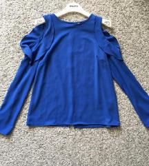 Predivna plava bluza vel S-M