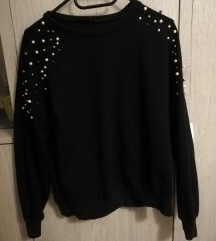Like Zara sweatshirt sa biserima M
