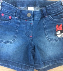 Nove dječje kratke Disney traperice - vel. 128