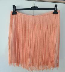 Zara suknja sa resama