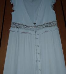 Bijela duga haljina Mango