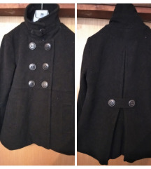 BIK BOK crni debeli zimski kaput M