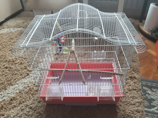 Gajba/krletka za ptice