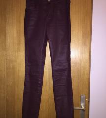 kožne hlače Massimo Duti