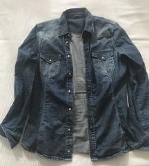 Zara jeans košulja ,vel.M/L