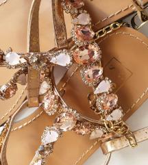 GOSSIP sandale s kristalićima