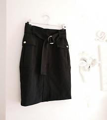 Suknja visoki struk H&M nova