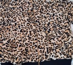 Nova leopard bomber jakna