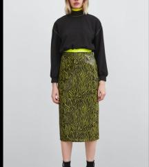 Nova zara suknja sa sljokicama SNIZENO