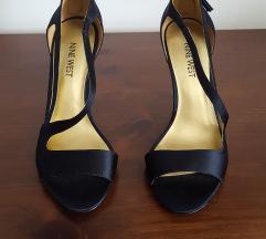 NINE WEST Crne  sandale na visoku petu