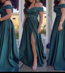 Zelena svečana haljina 42/44 The One