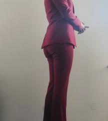Tamno crveno Asos odijelo