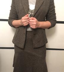 Žensko odijelo/ komplet ( sako+ suknja)