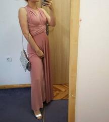 Baby roza multiway haljina (uni)