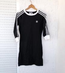 ADIDAS crna moderna sportska haljina