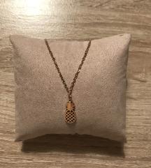 NOVA zlatna ogrlica 🍍 (pt uklj)
