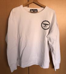 BOY LONDON Bijeli pulover s logom