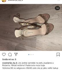 Roberto sandale na petu