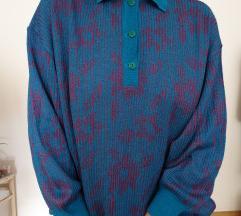 Plava vintage majica