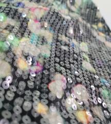 Mini sljokičasta suknja H&M