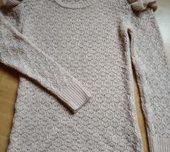 Tezenis roza majica/pulover s volancicima, S/36