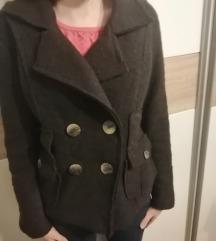 smeđi zimski kaputić