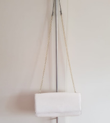 Bijela mini torbica