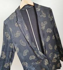 ZARA blejzer - bakrena svila