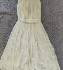 Zara Soft White haljina M