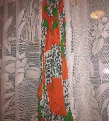 Zeleno narančasti šal