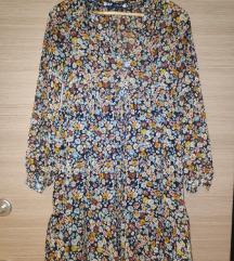 Zara cvjetna haljina XS