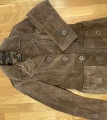 Vintage kožni kaputić