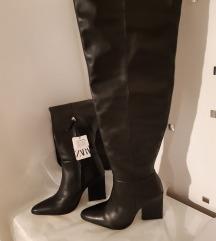 Nove zara xxl cizme iznad koljena PRAVA KOZA