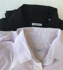 2 košulje  S.S.N.Y. crna i roza  S